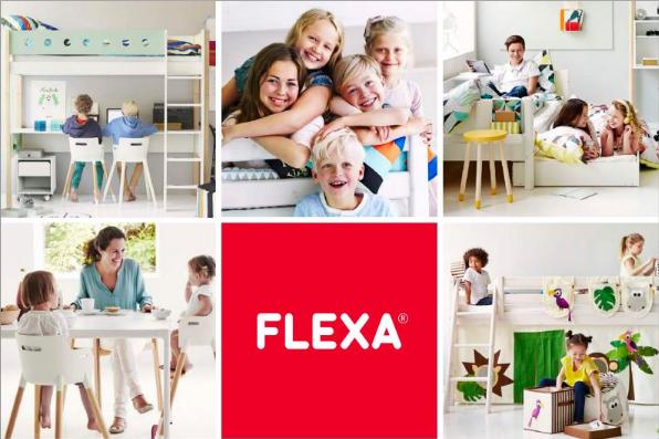Letto A Castello Triplo Flexa : Flexa shop lissone letti a castello