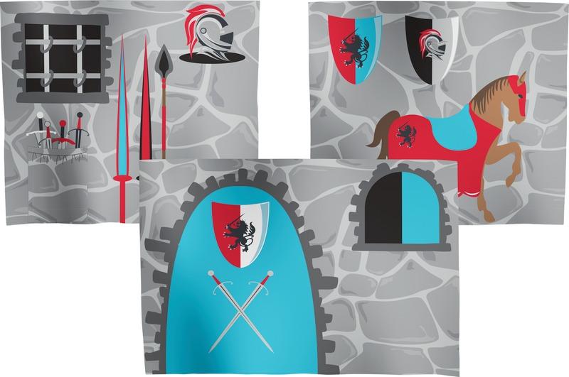 Tenda Tunnel Letto A Castello : Flexa shop lissone tenda per letto 3 pezzi